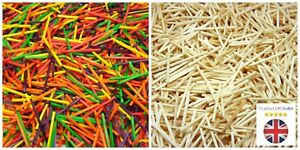 Natural-amp-Colour-Wooden-Matchsticks-1-1000-Pcs-Model-Arts-Craft-Match-Splints