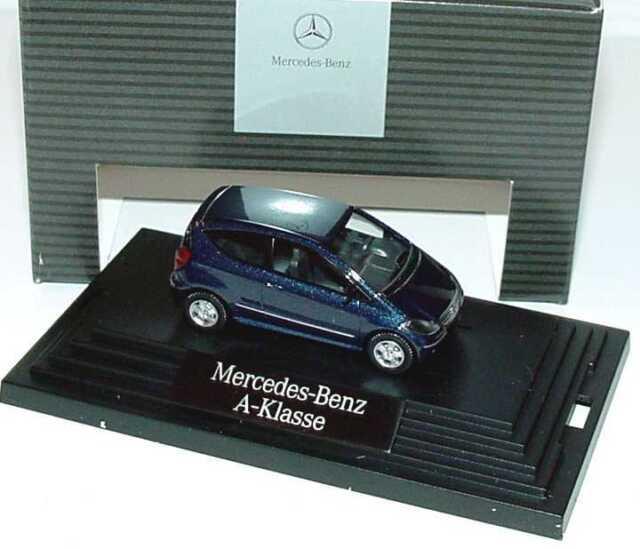 1:87 Mercedes-Benz A-Klasse 3türig W169 apollblau blau - Dealer-Edition - Wiking