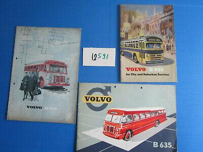 Bonito N°12591 / Autocar-autobus Volvo B 655 ,b 615 ,b 635 Catalogue 1952-1953