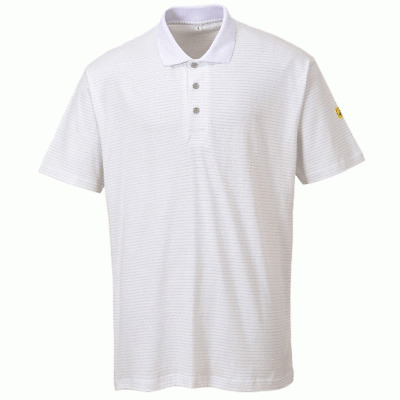 Portwest ANTI-STATIC ESD POLO SHIRT AS21 BNWT Free Delivery!