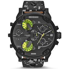Diesel DZ7311 Herrenuhr Edelstahl Leder Camouflage Chronograph Armbanduhr Uhr