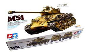 Tamiya-Military-Model-1-35-Israeli-Tank-M51-Scale-Hobby-35323
