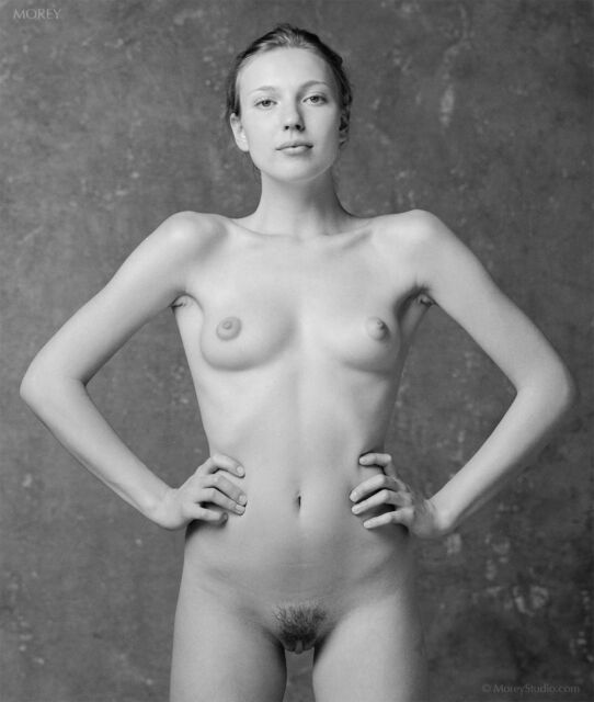 Fine Art Black & White Nude, signed photo by Craig Morey: Yelena 38806.03