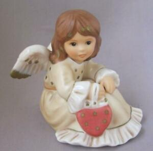 German Goebel Porcelain Angel and Pin With All My Love Germany Mother's Day Gift