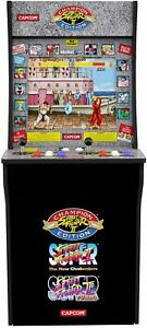 4ft Street Fighter Arcade Machine Games Arcade1up 3 in 1 Game Arcade Cabinet
