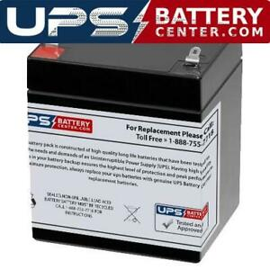 Vision CP1260 12V 6Ah Compatible Battery Replacement by UPSBatteryCenter