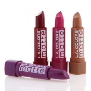 La Colors Lipstick Moisture Rich Lip Color Matte Lip Colors Makeup