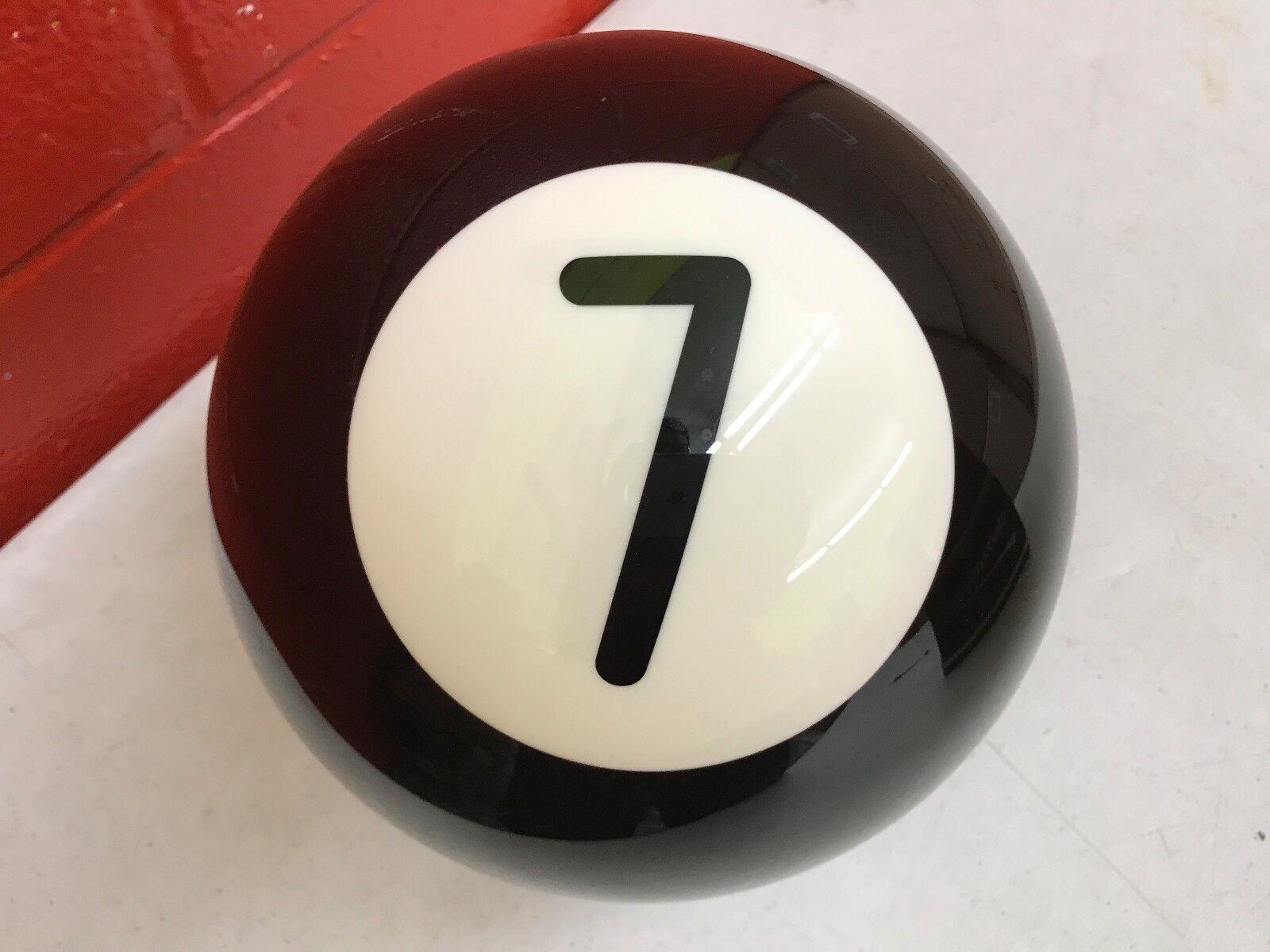 New OTB Pool Ball Number  7  8Bowling Ball Viz-a-Ball (132)