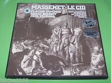 Massenet - Queler Domingo Bumbry Plishka - Le Cid - CBS 3 LP Box
