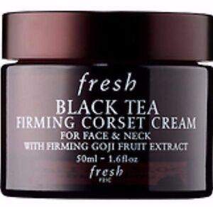 caa0b894f7 FRESH BLACK TEA FIRMING CORSET FACE NECK FULL SIZE 1.6 OZ! AUTHENTIC ...