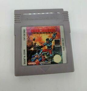 Bionic Commando Original Nintendo Gameboy Cartucho sólo PAL UK ukv