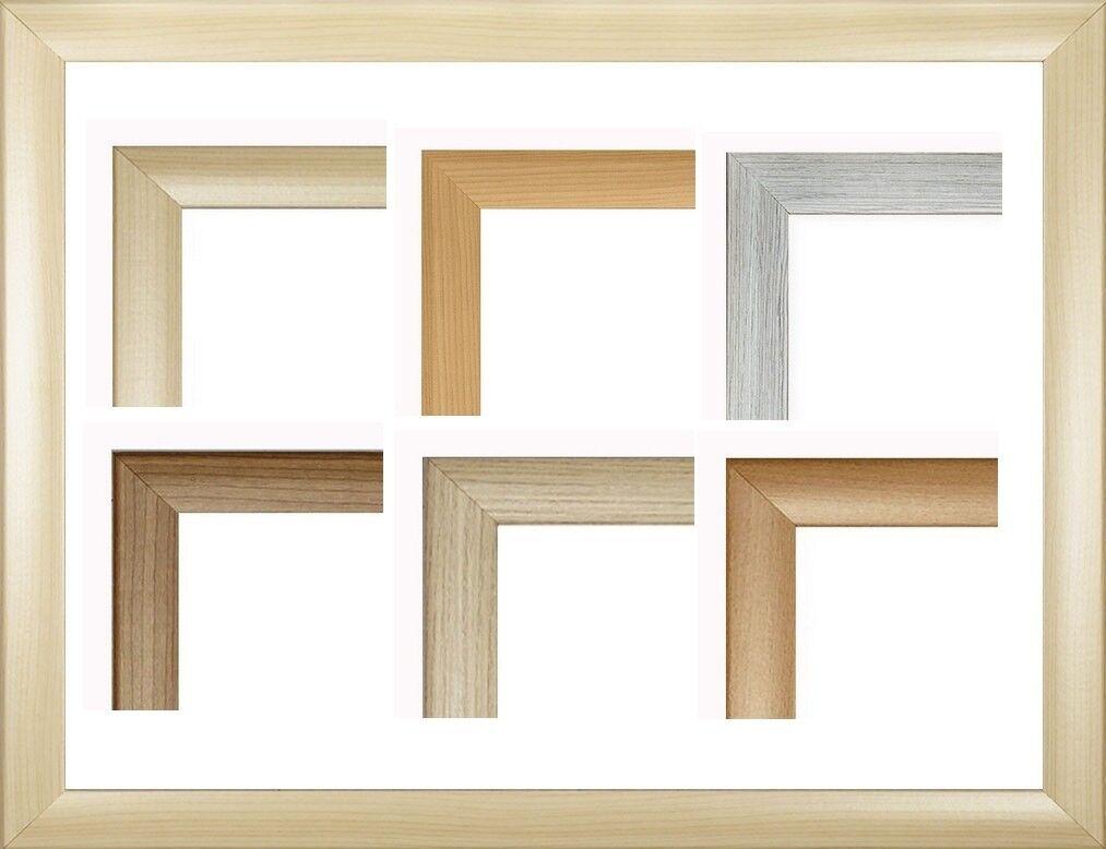 Pisa MDF-Bilderrahmen Holzdekor I von 70 x 110 bis 70 x 119 cm