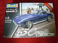 REVELL® 07434 1:8 1965 CORVETTE STING RAY® NEW