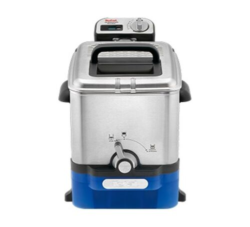 Tefal Oleoclean Pro Inox /& Design FR8040 silber Fritteuse