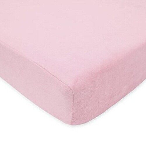 Fitted//Bottom Sheet Extra PKT Comfort 1000 TC Pima Cotton Pink Solid