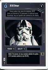 Star Wars CCG Hoth White Border At-At Driver