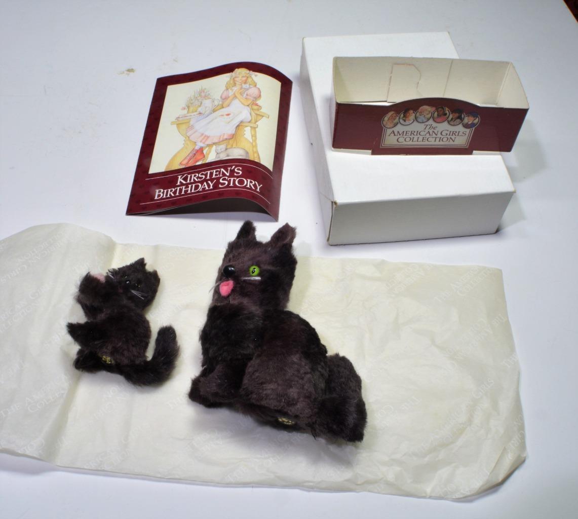Pennino 1999 American Girls Collezione Kirsten'S Compleanno Marrone Mama Gatto e