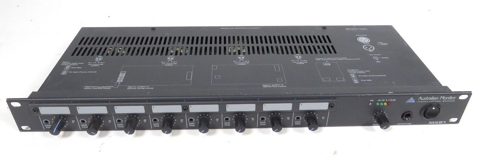 AS-IS Australian Monitor Mixer MX81