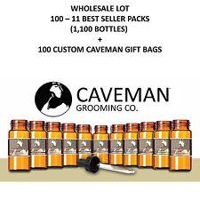 Caveman® Beard Oil (100) - 11 Pack kits Caveman Best sellers  Wholesale