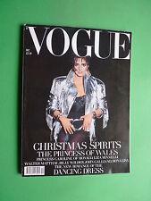 VOGUE UK December 1989 Liza Minnelli PRINCESS Lady DIANA JOEY HEATHERTON MAHARIS