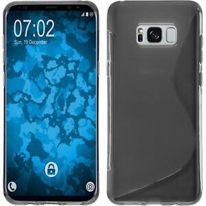 Custodia-in-Silicone-Samsung-Galaxy-S8-Plus-S-Style-grigio