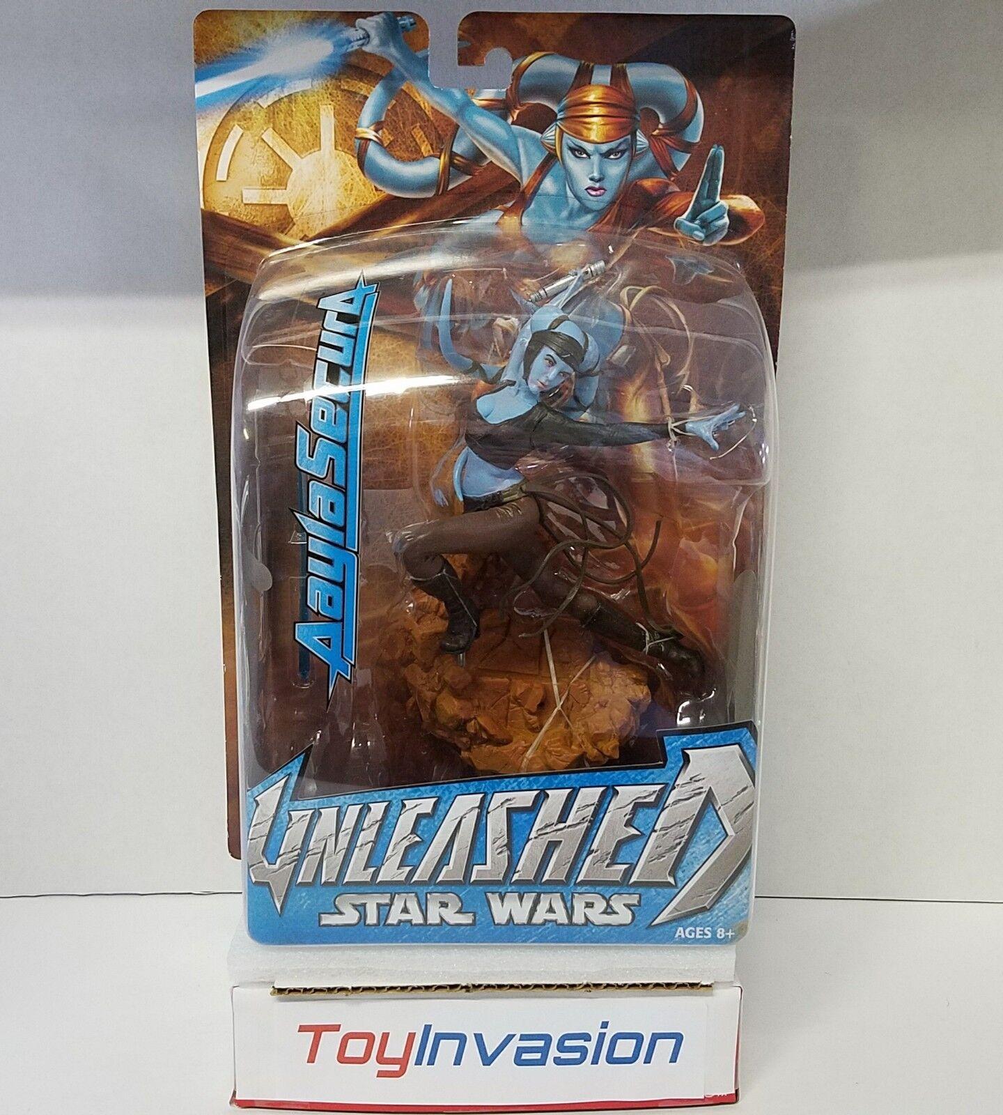 Hasbro 2004 Star Wars Unleashed Aayla Secura Collectible Collectible Collectible Action Figure 52cc90