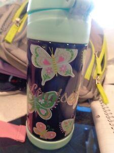 Pottery Barn Kids Mackenzie Butterfly Medium Water Bottle