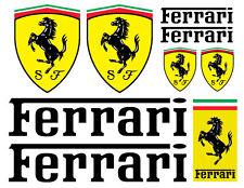 Ferrari Logo decal set