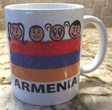 Ceramic Coffee Tea Mug Cup11oz White Yes Hai Em I'm Armenian Great Gift New