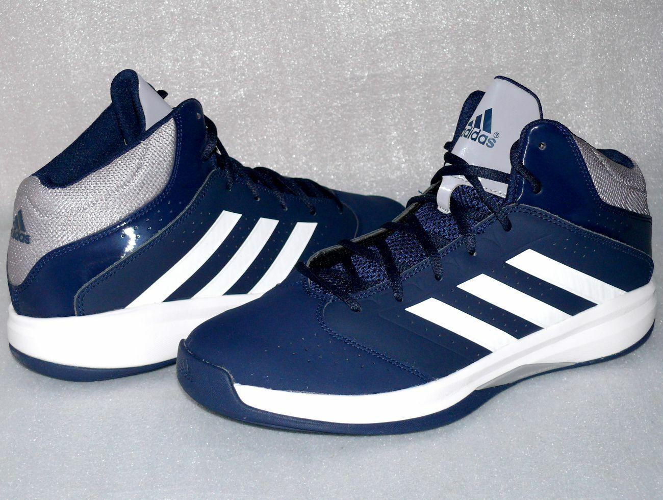 Adidas C75913 Isolation 2 Freizeit Schuhe Basketball Running Turnschuhe 47 Navy Wei