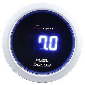 Ingegnoso Strumentazione Gauge Dp-ze-032 Dbl Fuel Pressure 52 Mm L'Ultima Moda