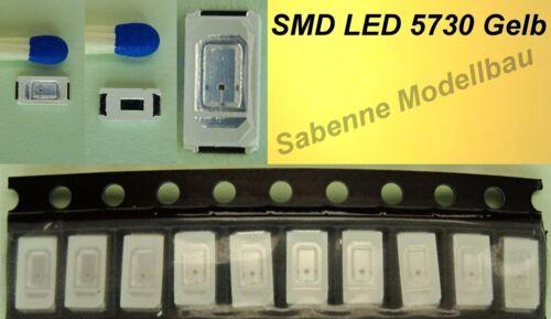 10 Stück SMD LED 5730 Gelb C2872