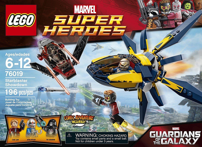 LEGO Super Heroes Marvel 76019 Le combat du Starblaster