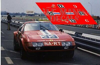 Accessories, Parts & Display Responsible Calcas Ferrari 365 Gtb/4 Daytona Le Mans Test 1973 1:32 1:43 1:24 1:18 Decals As Effectively As A Fairy Does Stickers, Decals & Iron-ons