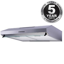 SIA STV60SS 60cm Visor Cooker Hood Kitchen Extractor Fan In Stainless Steel  sc 1 st  eBay & Visor Cooker Hood Kitchen Slim Design Extractor Fan in Stainless ...