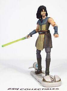 Star-Wars-3-75-034-Animated-Clone-Wars-CW36-QUINLAN-VOS-Jedi-Loose
