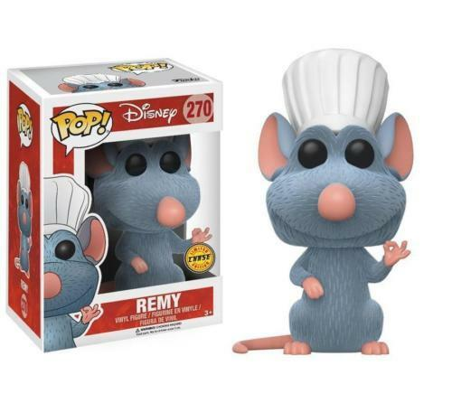 REMY Ratatouille Flocked CHASE divertiessitoko Pop Vinyl nuovo in Mint scatola  Prossoector