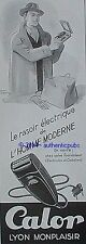 PUBLICITE CALOR RASOIR ELECTRIQUE DE L'HOMME MODERNE DE 1949 FRENCH AD PUB