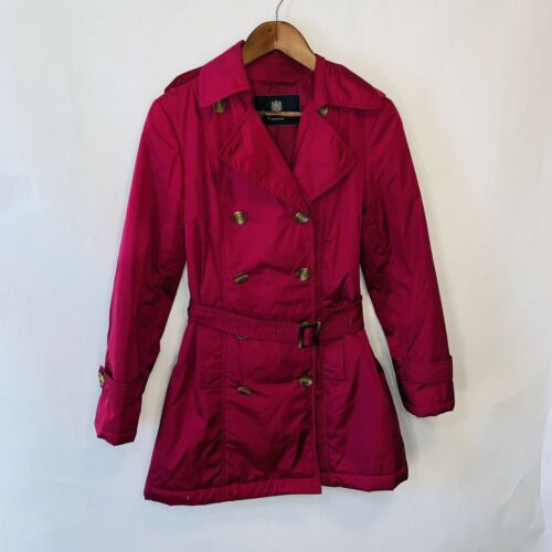 aquascutum London Pink Trench Coat M