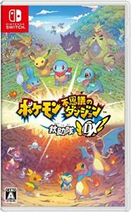 (JAPAN) Nintendo Switch video game Pokémon Mystery Dungeon: Rescue Team DX