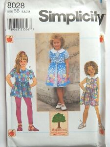 Dress-Top-Pinafore-Leggings-BB-5-6-7-8-Sewing-Pattern-Simplicity-8028