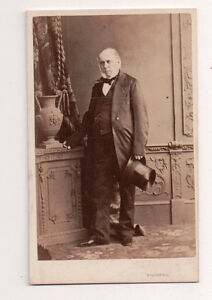 Vintage-CDV-Victorian-Aristocratic-Man-Top-Hat-Southwell-Photo