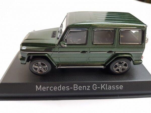 1 43 NOREV MERCEDES-BENZ G-Classe 2017 vert métallisé 351339