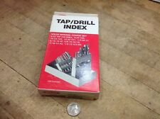 Empty You Fill No 99 6 32 To 12 13 Tap And Drill Huot Drill Case Index Box Usa