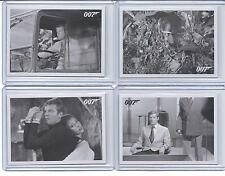 "2014 JAMES BOND ARCHIVES 007. LOT OF 4 ""THROWBACK"" LIVE AND LET DIE CARDS. ."