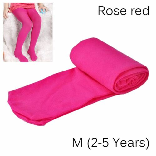 Girls Kids Children Hosiery Tights Candy Color Ballet Socks Pantyhose Stockings