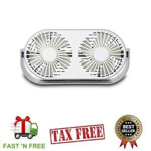 Reversible Small Kitchen Powerful Window Fan Silver Dual ...