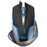 E-3lue E-blue Mazer Ii 2500 Dpi Blue Led Mice Optical Usb Wired Gaming Mouse