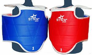 STAR-SPORTS-WTF-HOGU-CHEST-PROTECTOR-GUARD-TAEKWONDO-TKD-Sparring-gear-chest