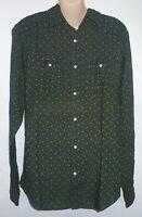 Mens Aeropostale Long Sleeve Western Woven Shirt 9738
